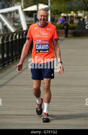 Athletics - Virgin Money London Marathon 2015 - Celebrities Photocall - Tower Hotel - Stock Photo