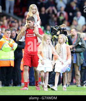 Soccer - Barclays Premier League - Liverpool v Crystal Palace - Anfield - Stock Photo
