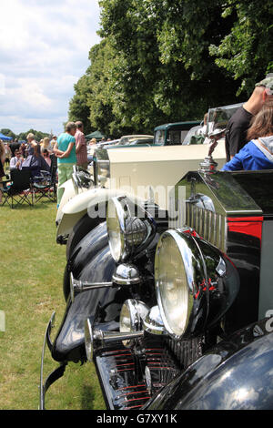 Rolls-Royces, Hanworth Classic Car Show, 26th June 2016. Bushy Park, Hampton Court, London Borough of Richmond, - Stock Photo