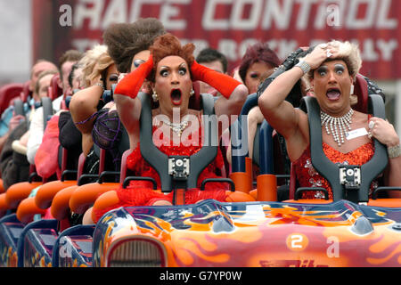 Rita Queen of Speed - Alton Towers - Stock Photo