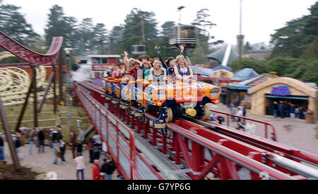 Rita Queens of Speed - Alton Towers - Stock Photo