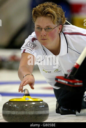 World Womens Curling Championships - Lagoon Lesiure centre - Stock Photo