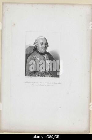 Aubeterre, Henri-Joseph Bouchard d' Esparbes Marquis d' - Stock Photo