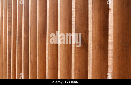 Picture of a wooden texture, natural wood paralell lines - Stock Photo