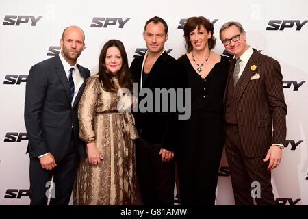 Spy European premiere - London - Stock Photo