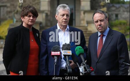 Stormont House Agreement Talks Stock Photo 108212657 Alamy