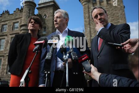 Stormont House Agreement Talks Stock Photo 108212861 Alamy