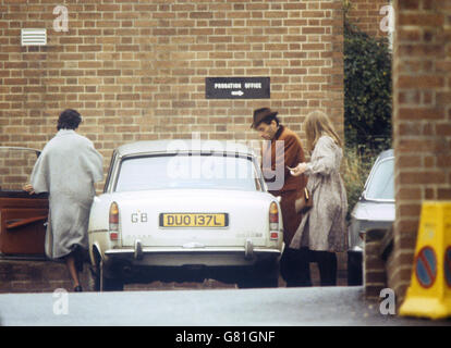Crime - Norman Scott Murder Conspiracy Trial - Jeremy Thorpe - Minehead - Stock Photo