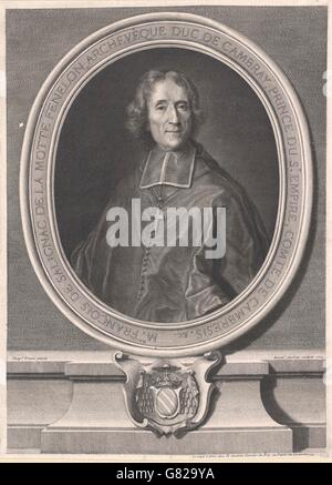 Fénélon, François de Salignac de la Mothe - Stock Photo