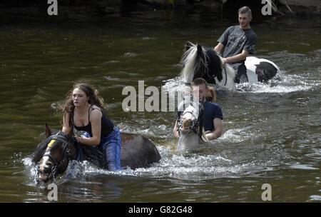 Appleby Horse Fair 2015 - Stock Photo