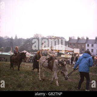 London Scenes - Hampstead Fair - London - Stock Photo