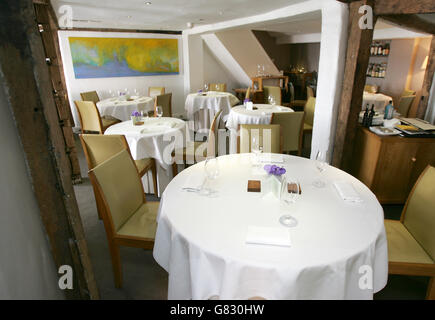 Best Restaurant in the World - The Fat Duck - Stock Photo