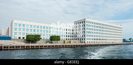 A.P. Møller - Mærsk A/S headquarters on Esplanaden in Copenhagen Denmark