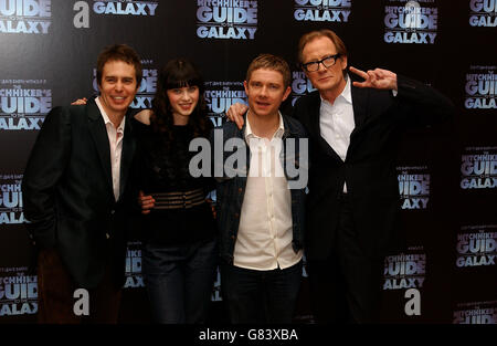The Hitchhikers Guide to the Galaxy - Photocall - Dorchester Hotel - Stock Photo
