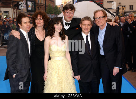 The Hitchhikers Guide to the Galaxy - World Premiere - UCI Empire - Leicester Square - Stock Photo