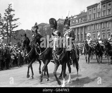 Royalty - Trooping the Colour - London - Stock Photo