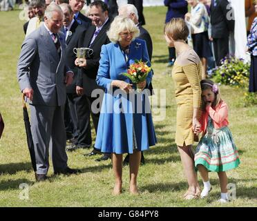 Sandringham flower show - Stock Photo