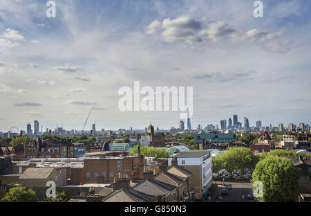 Summer weather July 11th 2015 - Stock Photo