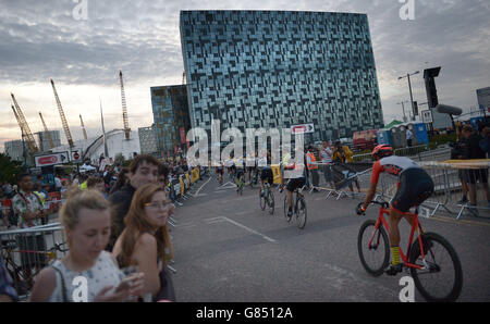 Red Hook Criterium cycle race - Stock Photo