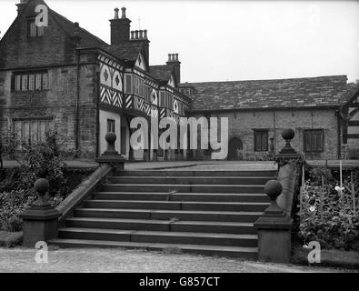 Places - Smithills Hall - Bolton - Stock Photo