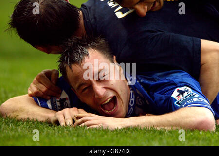 Soccer - FA Barclays Premiership - Bolton Wanderers v Chelsea - Reebok Stadium - Stock Photo
