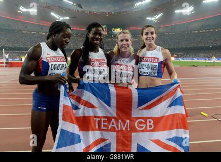 Athletics - IAAF World Championships - Day Nine - Beijing National Stadium - Stock Photo