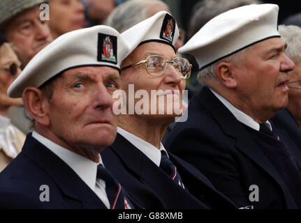 60th anniversary of Russian VE Day - Imperial War Museum - Stock Photo