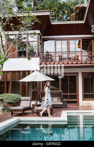 Four Seasons Sayan in Ubud, Bali, Indonesia - Stock Photo