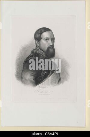 Friedrich VII., König von Dänemark - Stock Photo