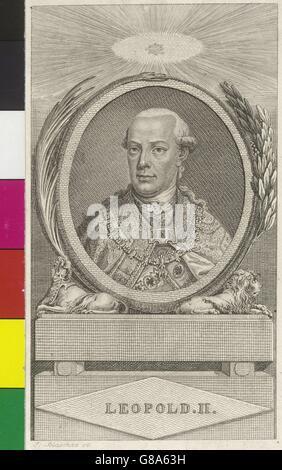 Leopold II., römisch-deutscher Kaiser - Stock Photo