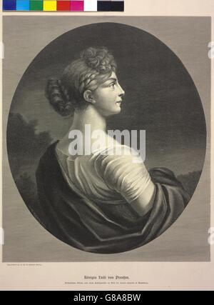 Königin Luise von Preußen - Stock Photo