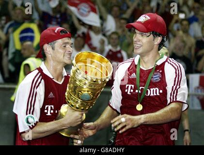 Soccer - DFB-Pokal, Finale - FC Bayern Muenchen  (FCB) - Schalke 04 - Stock Photo