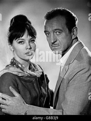 Guns Of Darkness, aka: Flucht aus dem Dunkel, Großbritannien 1962, Regie: Anthony Asquith, Darsteller: Leslie Caron, - Stock Photo