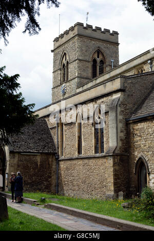 St. Giles Church, Oxford, Oxfordshire, UK - Stock Photo