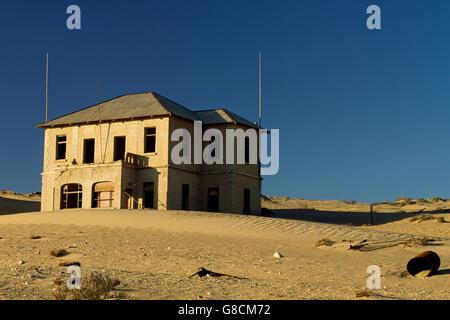 Ghost town, Kolmanskop, Namibia. - Stock Photo