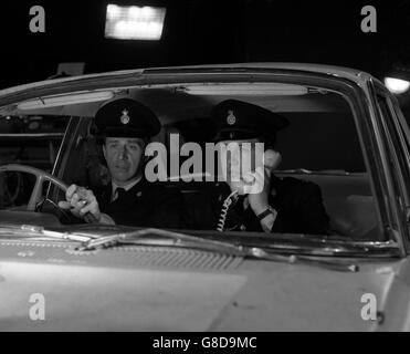 Television - Z Cars - Colin Welland and Donald Gee - London - Stock Photo