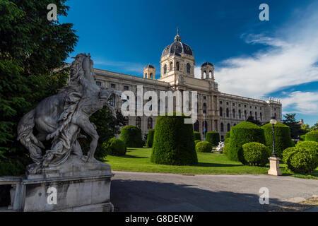 Museum of Natural History, Vienna, Austria - Stock Photo