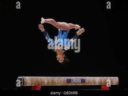 Gymnastics - 2015 World Championships - Day Seven - The SSE Hydro - Stock Photo