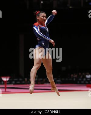 Gymnastics - 2015 World Championships - Day Ten - The SSE Hydro - Stock Photo