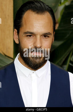 Hollywood, California, USA. 27th June, 2016. Casper Crump at the Los Angeles premiere of 'The Legend Of Tarzan' - Stock Photo