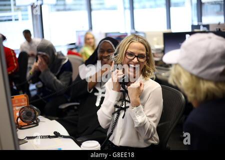 Bloomberg Tradebook charity day - Stock Photo