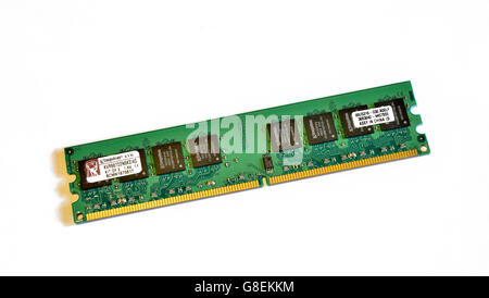 DDR2 2GB RAM memory for desktop computer - Stock Photo