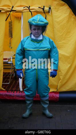 Northern Ireland emergency response - Stock Photo