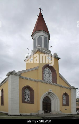 notre dame cathedral papeete tahiti - Stock Photo
