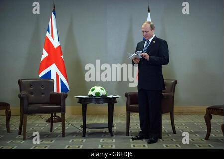 G20 meeting - Antalya - Stock Photo