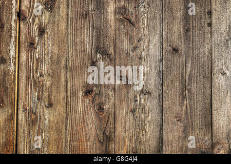 old wood background in hdr tone - Stock Photo