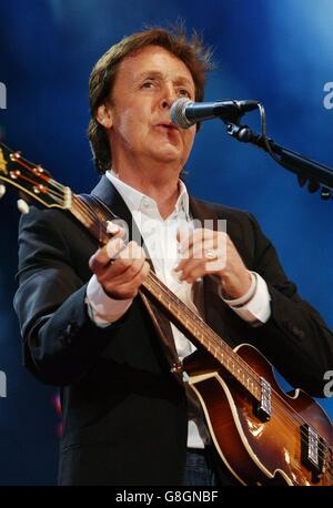 PAUL MCCARTNEY LIVE 8 HYDE PARK LONDON ENGLAND 02 July ...