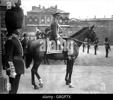 The Duke of York - The Trooping of the Colour - Horse Guards, London - Stock Photo
