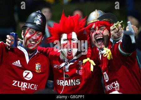 Rugby Union - Taranaki v British & Irish Lions - Yarrow Stadium - Stock Photo