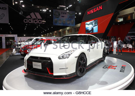 Nissan Nismo motor vehicle on nissan stand at goodwood festival of